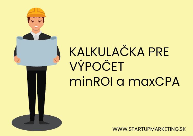 Úvodný obrázok blogu kalkulacka minROI a maxCPA